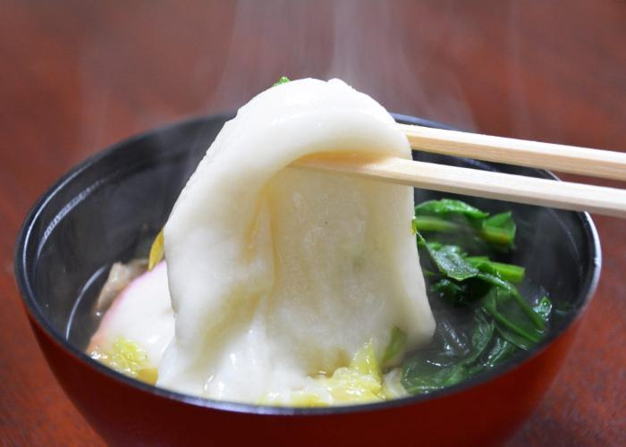 Ozoni, Japanese mochi soup enjoyed during Japanese New Year