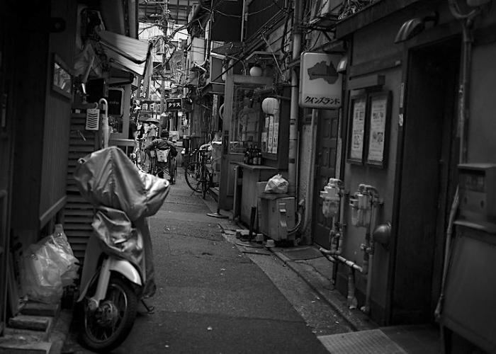 Yokocho drinking alley in Sangenjaya, Tokyo