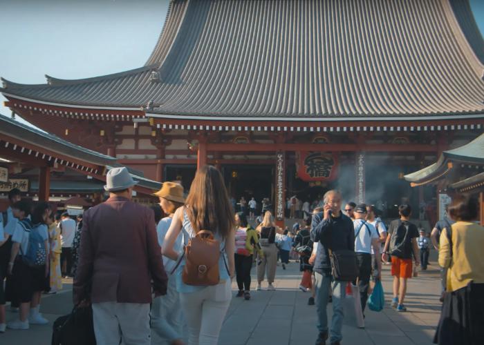A halal food tour with a stop at Asakusa Sensoji Temple
