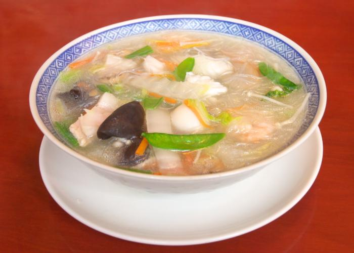 Bowl of Taipien noodles